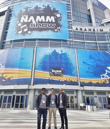Indigisounds and Precision at NAMM